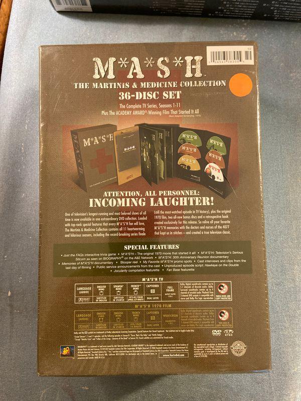 Complete MASH series on DVD