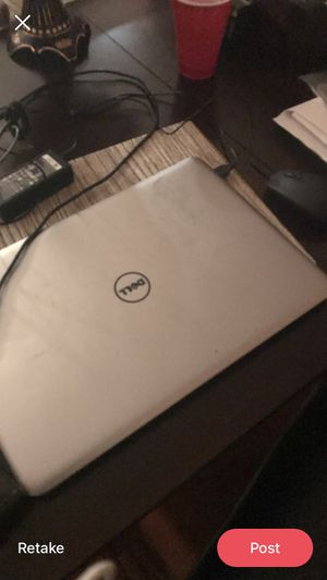dell laptop with ac adapter for Sale in Gaithersburg, MD