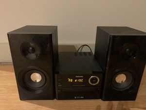 Philips btm2180/37 Micro Music System Bluetooth MP3 Usb Direct Stereo System for Sale in Houston, TX