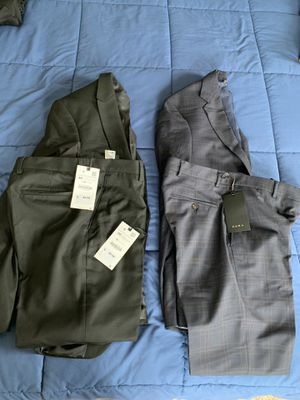 Lot of 2 - Men's BRAND NEW ZARA Suits sz 36R, 31x31 for Sale for sale  New York, NY