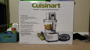 Cuisinart 13 cup food processor for Sale in Fremont, CA