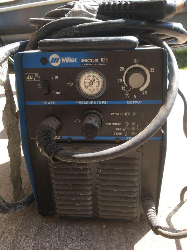 Miller Spectrum 625 >> Coleman Vertex 7500 Generator Miller Spectrum 625 Plasma