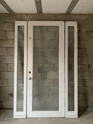 Set de puerta de patio madera sólida for Sale in US