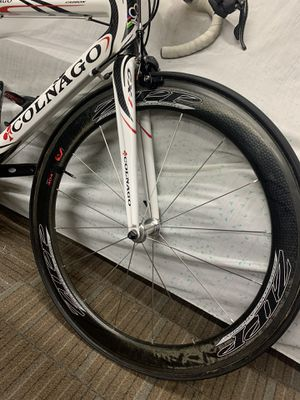 Zipp 404 carbon tubular race wheels w/ ceramic bearing upgrade!! for Sale in Pomona, CA