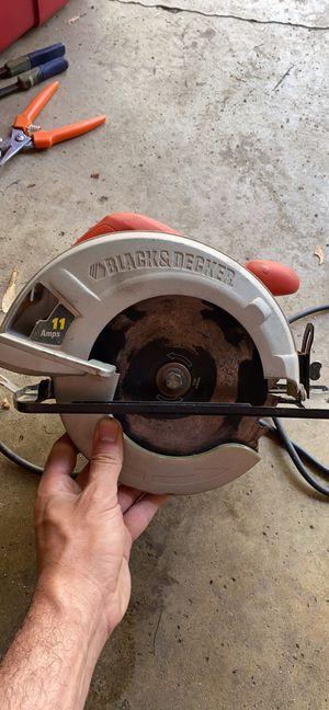 Black and decker circular saw for Sale in Troy, MI