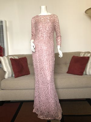 Pink Lace Dress with Sleves for Sale in San Jose, CA