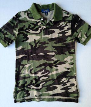 Ralph Lauren Polo Camo Shirt Size 8 for Sale in Houston, TX