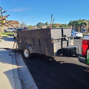 Utility Trailer 5'x10'x4' for Sale in Corona, CA