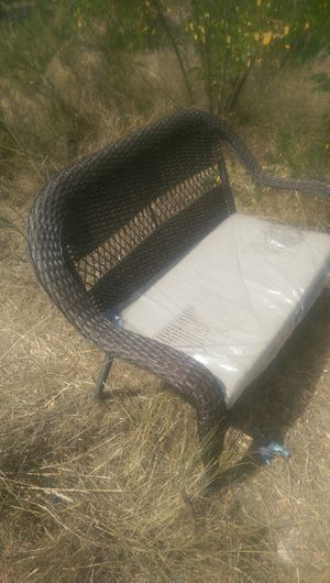 Outdoor furniture bench for Sale in Tacoma, WA