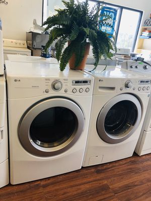 LG WASHER AND ELECTRIC DRYER for Sale in Pleasant Grove, UT