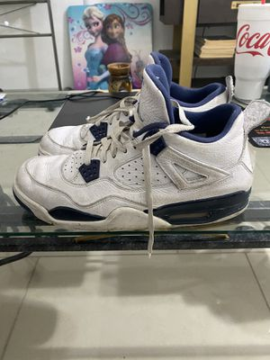 Air Jordan 4 Retro LS 'Legend Blue' (beaters) SZ 11 for Sale in Mesa, AZ