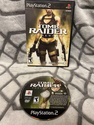 Tomb Raider Underworld Ps2 Rare! for Sale in Roseville, CA