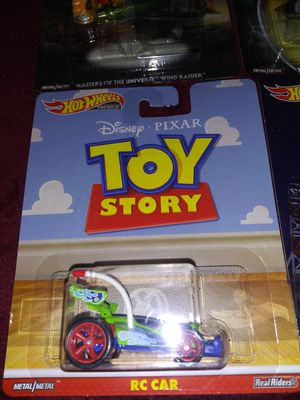 HOT WHEELS Toy Story R C car for Sale in Graham, WA