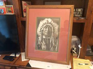 Sitting Bull print for Sale in New Bern, NC