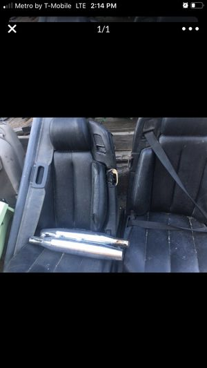 Mercedes SL500 seats. 75 a piece $150 for the pair for Sale in Riverside, CA
