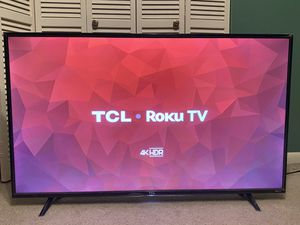 """TCL 4K HDR 55"""" ( Smart TV) for Sale in Tampa, FL"""