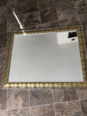 "60"" mirror with gold frame for Sale in San Jose, CA"