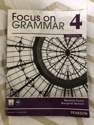 Focus on grammar 4 Pearson for Sale in Rockville, MD