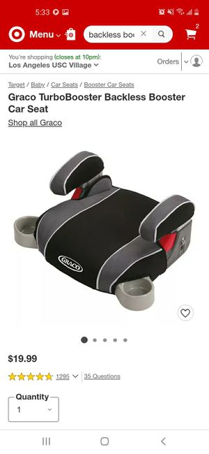 New Graco Backless booster seat for Sale in Los Angeles, CA