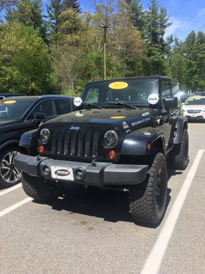 2012 Jeep Wrangler Rubicon for Sale in Tyngsborough, MA