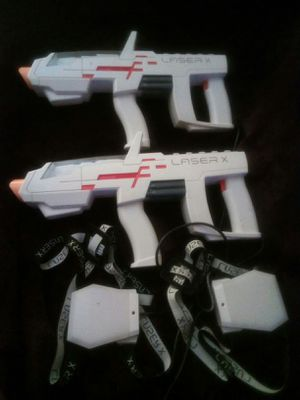 Laser X tag guns for Sale in Griffin, GA