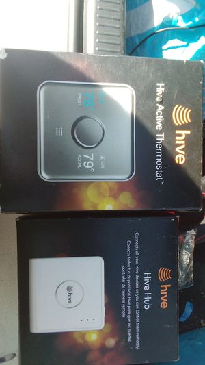 Hive smart thermostat and hub for Sale in Harker Heights, TX