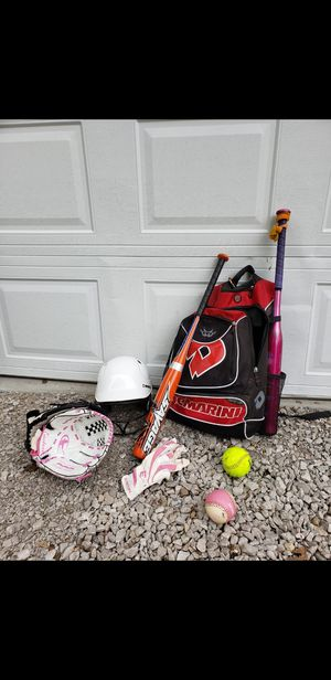 BaseBall/Softball set up with Dematini Vexxum Backpack for Sale in Wood River, IL
