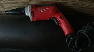 Milwaukee drywall drill with cord for Sale in Phoenix, AZ