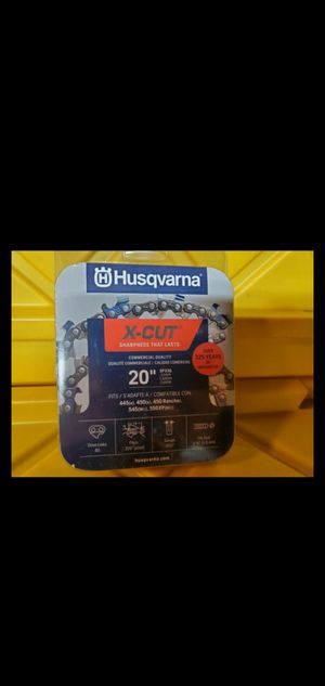 New Husqvarna20-in Replacement Chainsaw Chain for Sale in San Diego, CA