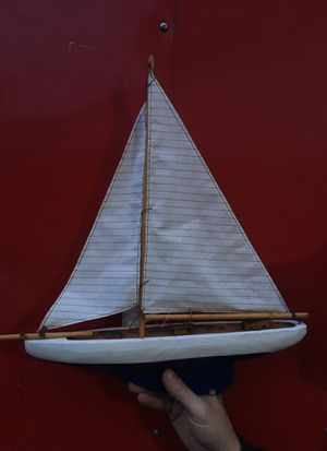 Old School Model Sailboat for Sale in Saint Clair Shores, MI