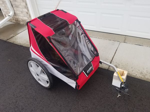 Chariot Caddie bike trailer, double, Nice and clean