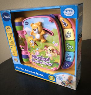 Baby Toy - VTech Musical Rhymes Book, Pink for Sale in Covina, CA
