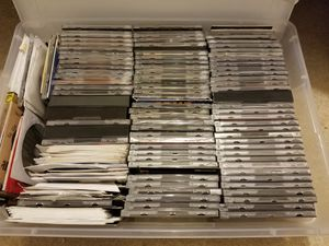 Box of random CD-ROMs for Sale in Seattle, WA