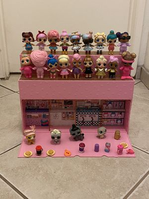 LOL POP SURPRISE POP UP STORE WiTH Dolls ☝️S150 FOR Everything Only today for Sale in Costa Mesa, CA