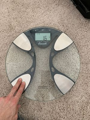 Glass scale hardly used for Sale in San Diego, CA