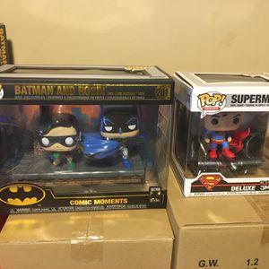 Batman And Robin Plus Superman $45 for Sale in Chicago, IL