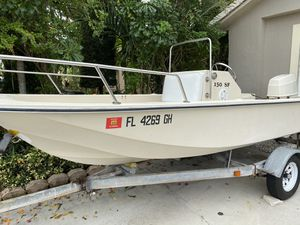 Selfish Skiff 15 feet With Johnson 70 hp for Sale in Hialeah, FL