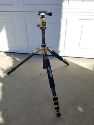 ZOMEi Z669C Portable Carbon Tripod Monopod Kit for Sale in Ontario, CA