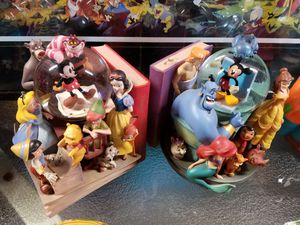 Disney snowglobes and collectibles for Sale in Joliet, IL
