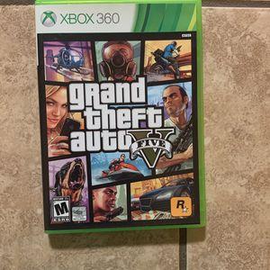 Grand Theft Auto V For Xbox 360 for Sale in Baton Rouge, LA