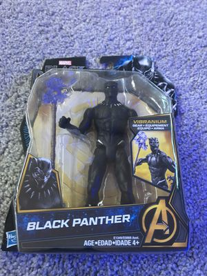Black panther action figure *read* for Sale in St. Petersburg, FL