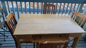 Rustic Wood Table for Sale in Santa Cruz, CA