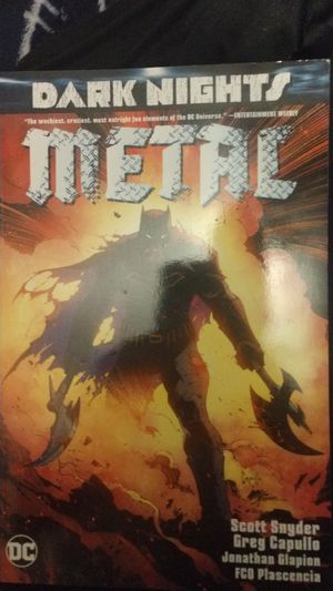 Dark knights metal comic books for Sale in West Hartford, CT