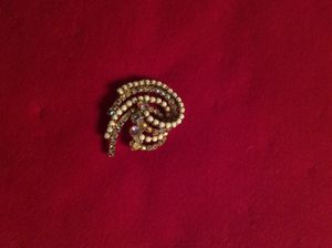 Vintage ca 1950s glass on aorora boriales 3 dimensional brooch for Sale in Washington, DC
