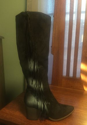 Black Fringe Boot for Sale in West Covina, CA