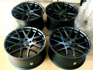 💢💯 NEW Shelby Mustang rims wheels STAGGERED 19x9.5 Front x 19x10.5 Rear 5x114.3 bolt pattern 🕸♨️🎈💢 for Sale in Houston, TX