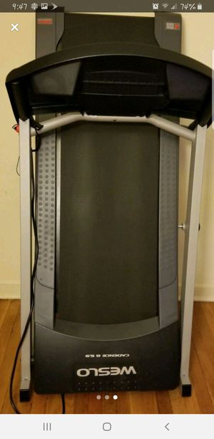 Weslo electric treadmill good condition for Sale in Belleville, NJ