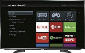 "Sharp - 50"" Class (49.7"" Diag.) - LED - 1080p - Smart - HDTV Roku TV - Black for Sale in Seattle, WA"