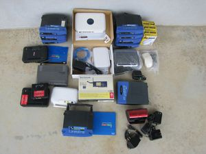 Lot Computer Serial Mice, Routers Gateways and Speaker for Sale in Bernville, PA