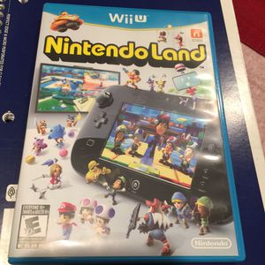 Nintendo Land Wii U Edition Disk for Sale in Chicago, IL